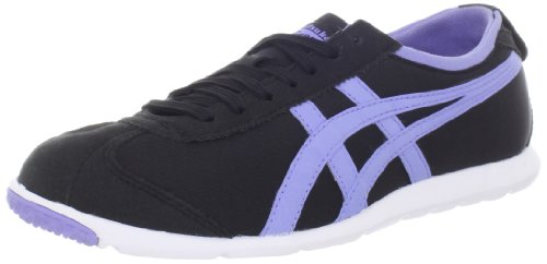 Onitsuka Tiger Femmes Rio Runner Lace-up Mode Sneaker Noir / Lavande