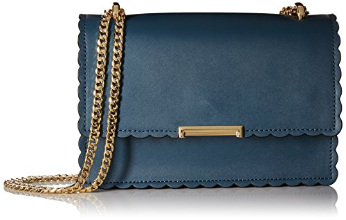 Ivanka Trump Mara Cocktail Bag Teal, Teal Mini Scallops by Ivanka Trump