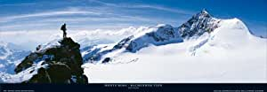 Davide Camisasca–Monte Rosa, Balme nhor View de Impresión–Tamaño 150x 52cm