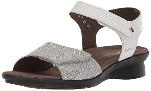 Mephisto Women's Pattie Sandal, White, 12 M US