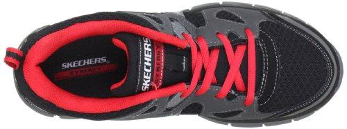 Skechers SynergyZeal 95490L CCRD - Zapatillas para niño Gris (Grau (Ccrd))