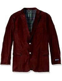 Men's Big and Tall Velvet Sport Coat