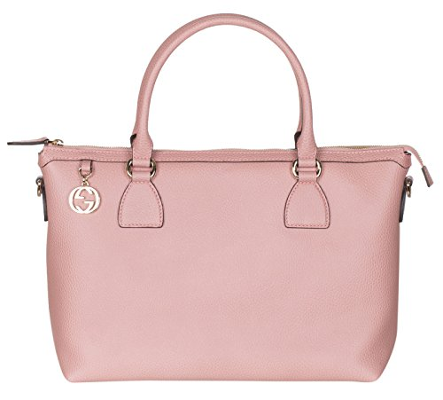 Gucci Soft Pink Calf Leather GG Pendant Hobo Shoulder - Gucci Sale Women
