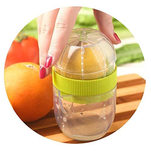 Krystal_wisdom Premium Quality Lemon Lime Squeezer Eco Friendly Material Manual Citrus Press Juicer Mini Juice Tool,Blue
