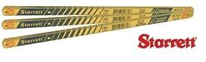 """Starrett Co L S BS1224N Bi-metal Hacksaw Blade 12"""" (Pack of 10)"""