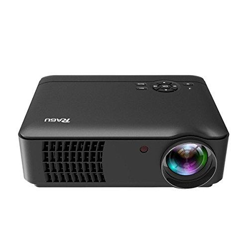 Beamer, RAGU RG-01 Beamer 1280x768 Auflösung Unterstützung 1080P Video Projektor für Amateurfilm von USB HDMI VGA SD AV