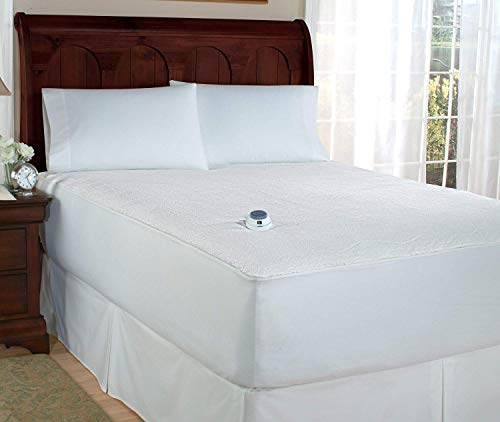 Perfect Fit SoftHeat Smart Heated Electric Mattress Pad with Safe & Warm Low Voltage Technology, Micro-Plush Top (Twin)
