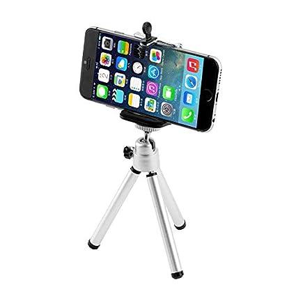 FidgetFidget Tripod Mini for Camera Mobile Cell Phone Hand Desk Stand Holder Mount we1# Black
