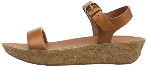FitFlop Women's Bon II Back-Strap Sandals Medical Professional Shoe, Caramel, 9 M US by FitFlop (Image #5)