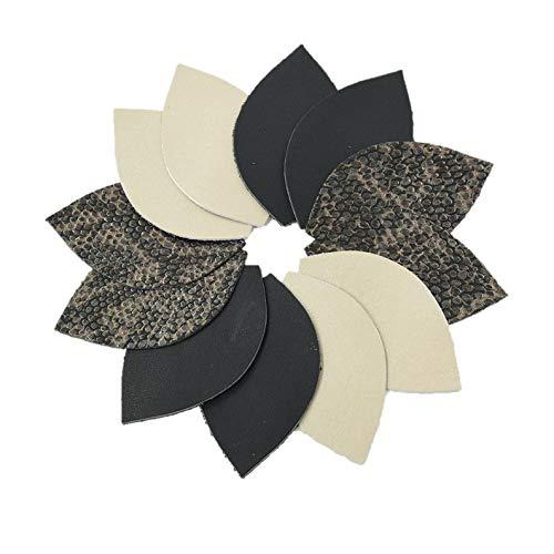 (12pk-Leather Leaf Medium Mix Pack Die Cut Sassy Snake Pack DIY Earrings)
