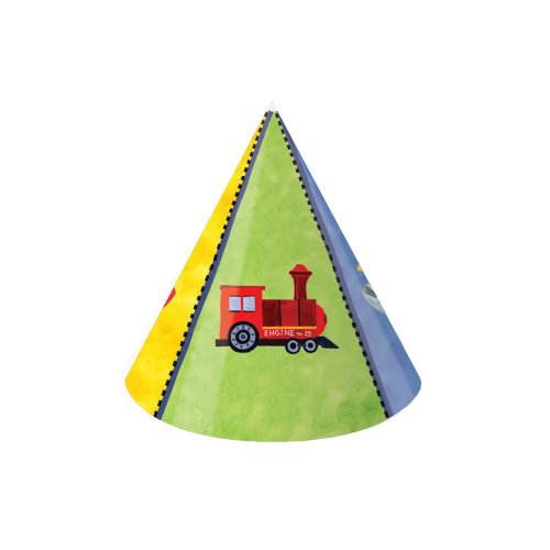 Creative Converting on The Go 8 Count Child Party Hats]()