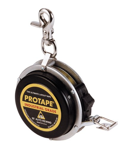US tape 65622 3/8-Inch x 50-Foot Auto-Rewind Protape