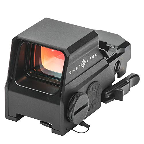 Sightmark Ultra Shot M-Spec LQD Reflex Sight (Locking Quick Detach Mount) Red Dot Sights (Best Ar 15 Brand For The Money)