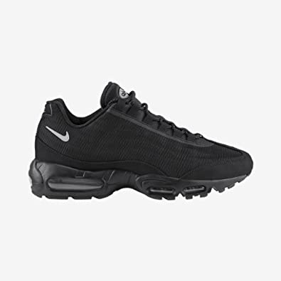 detailed look d3149 71806 ... Nike Mens Air Max 95 Premium Tape Black Reflective Trainer Size 11 UK  ...