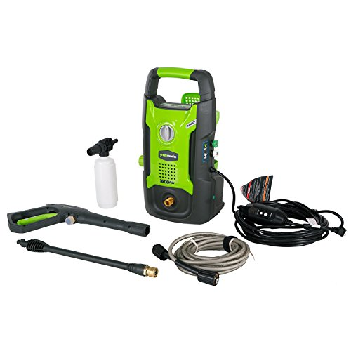 Greenworks 1600 PSI 13 Amp 1.2 GPM Pressure Washer GPW1602 Renewed
