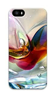 Bubbles Background Hard Plastic Case for iPhone 5/5S