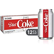 Diet Coke Soda Soft Drink, 12 fl oz, 12 Pack