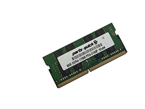 8GB Memory for Intel Next Unit of Computing (NUC) NUC7i5DNKE DDR4 2133MHz SODIMM RAM (PARTS-QUICK BRAND) by parts-quick