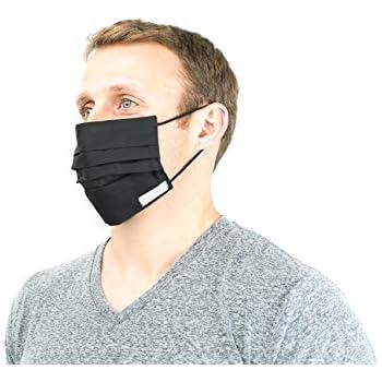 Amazon.com: B.M Black Surgical Face Mask Set Fashionable