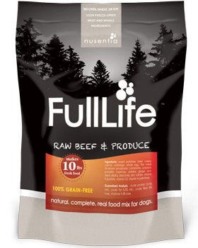 FullLife Grain Free Raw Dog Food Mix – Beef and Produce – Makes 10 lbs, My Pet Supplies