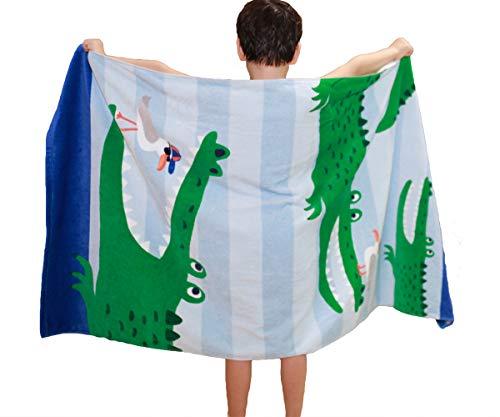 HOMAGIC2WE Kids Beach Towels Large Size Skin Bathrobe Soft Swim Blanket for Girls and Boys]()