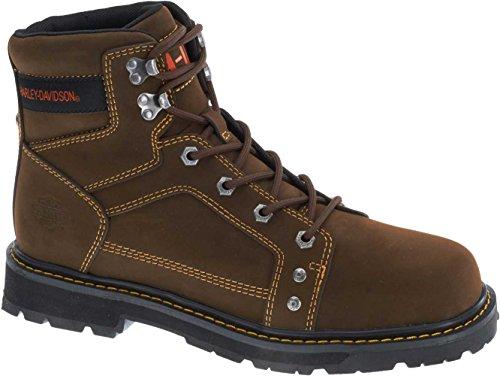 Harley-Davidson Men's Keating Work Boot, Brown, 11.5 M US