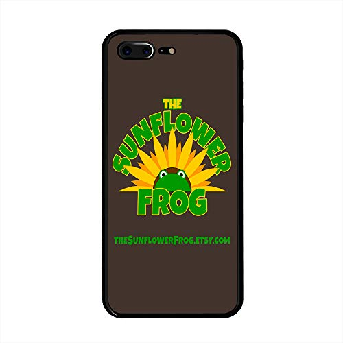 iPhone 7 Plus/iPhone 8 Plus Case, The Sunflower Frog TPU Customization for iPhone 7 Plus/iPhone 8 Plus 5.5 inch Protective Shell ()