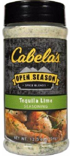 Cabela's Open Season Spice Blends Tequila Lime Seasoning - 12 Ounce