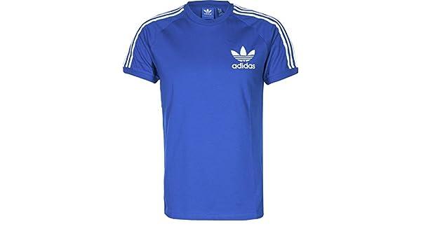Camiseta adidas - California azul/blanco talla: XS (X-Small): Amazon.es: Ropa y accesorios