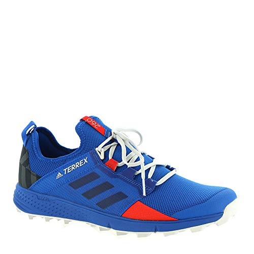 adidas outdoor Men's Terrex Speed LD Blue Beauty/Legend Ink/Active Red 8 D US ()