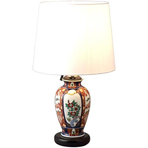 Arita Imari Phoenix lamp stand -