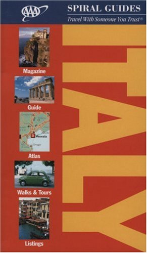 Italy Spiral Guide (AAA Spiral Guides) -