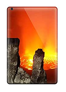 Hot Top Quality Case Cover For Ipad Mini Case With Nice Volcano Appearance