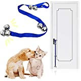 Kalevel Dog Bells Potty Training Door Bell Doggie Puppy Doorbell with Free Adhesive Wall Hook for Potty Training and Housebreaking Dogs Cats - 7 Extra Loud Bells