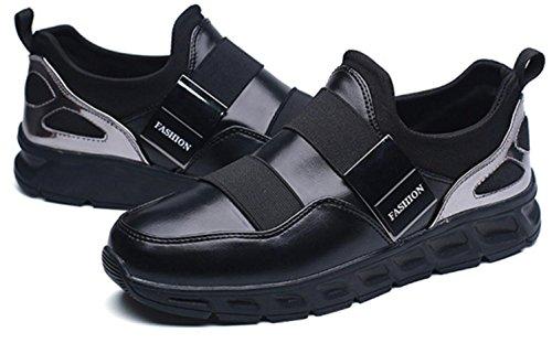 CSDM Uomini Nuovi sport di moda di moda di svago Scarpe di peluche luminose di Runnig di pallacanestro , black , 41