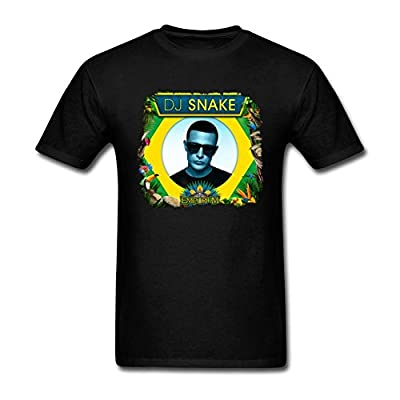 CNTJC Men's Artist DJ Snake T Shirt S