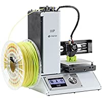 Monoprice MP Select Mini Color 3D Printer with Heated Build Plate (White)