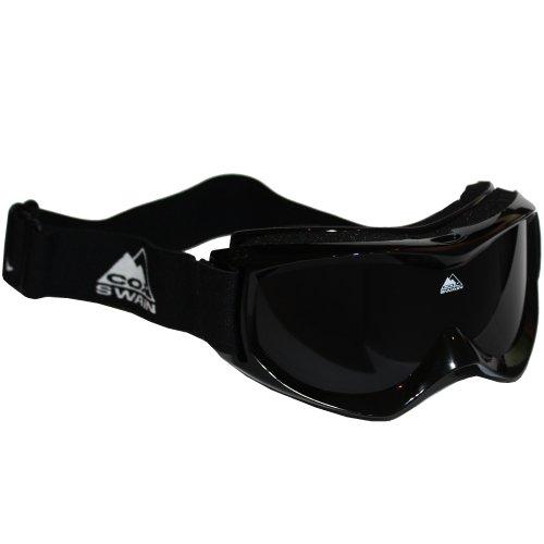 COX SWAIN Ski-/Snowboardbrille CRUISE - 4 Lenscolors wählbar! - mit Box und Reinigungstuch!, Lens Color: smoke lens