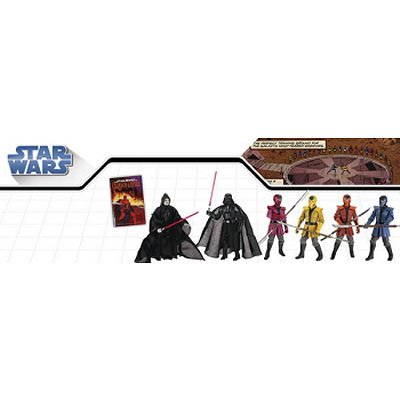 Hasbro Star Wars: Crimson Empire Crucible Action Figure Pack