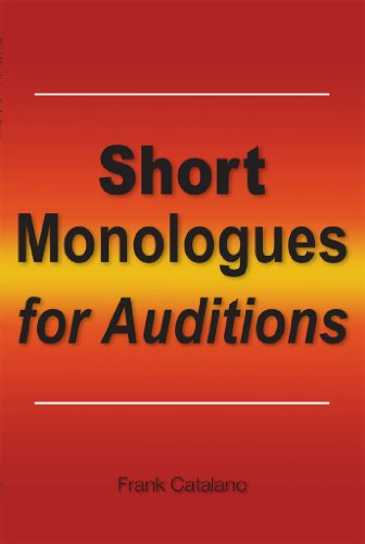 Books On Acting in Amazon Store - Short Monologues for Auditions