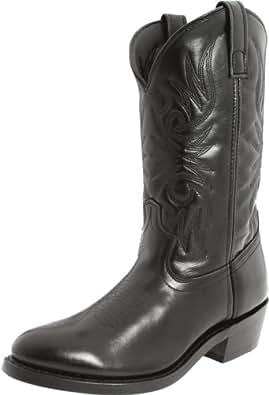 """Laredo Men's 12"""" Trucker Boot,Black,7 D US"""