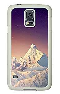 Samsung Galaxy S5 landscapes nature snow mountain26 PC Custom Samsung Galaxy S5 Case Cover White