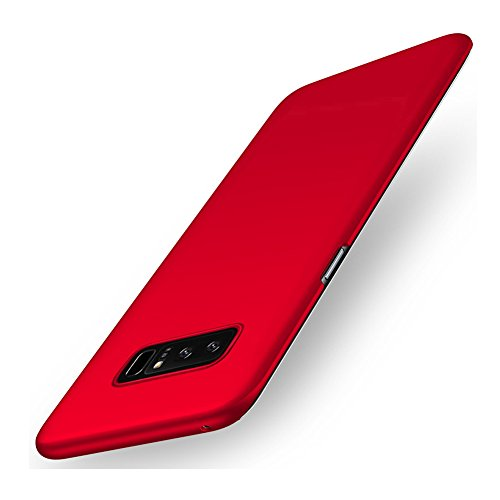 Hard Case for Samsung Galaxy Note8 Anti-Scratch Lightweight Thin Hard Cover (Red)