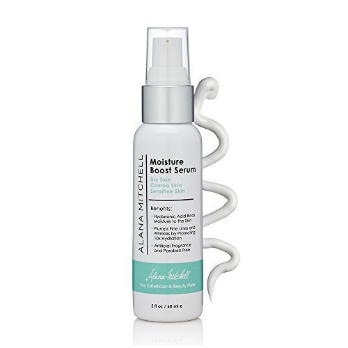 Hyaluronic Anti Aging Hydrating Moisturizer By Alana Mitchell All Natural Wrinkle Serum 2oz
