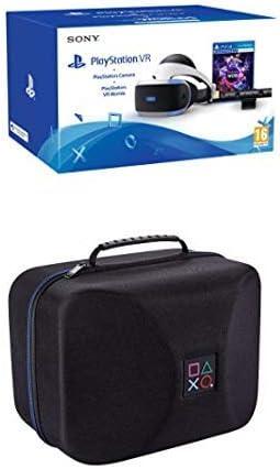 Sony PlayStation VR + Cámara + VR Words + Bigben Funda PS VR con Licencia Oficial (PS4): Amazon.es: Videojuegos