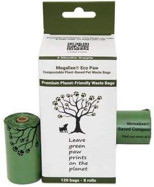 Mogalixe 100% Compostable Pet Poop Bags