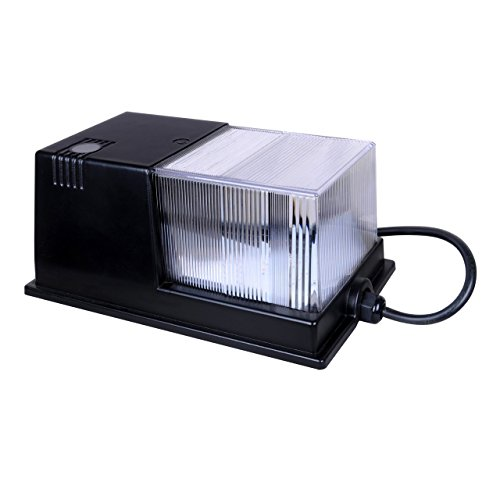 100 Watt Metal Halide Wall Pack Flood Light Fixture - 9