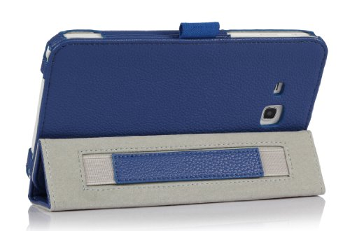 3g Stylus (ProCase Samsung Galaxy Tab 3 Lite 7 Tablet Case with bonus stylus pen - Tri-Fold Smart Cover Case for Tab 3 Lite 7.0 inch, SM-T110 (Navy, Dark Blue))