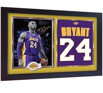 3b5ab67e94f SGH SERVICES New Framed Kobe Bryant LA Lakers signed autograph pre-print  poster Basketball Memorabilia