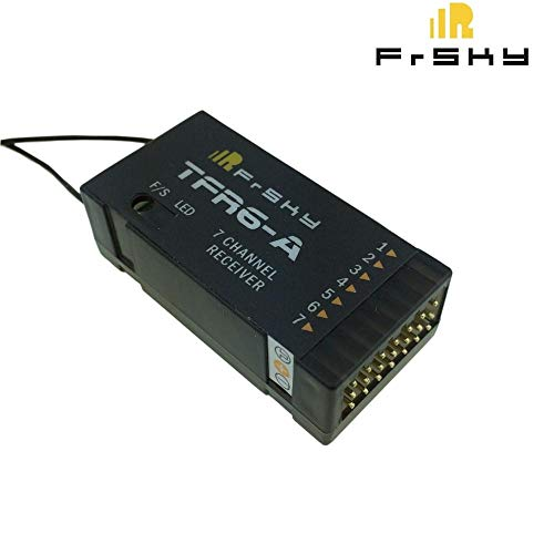 Kamas FrSky TFR6A TFR6-A 2.4Ghz 7Channel Receiver Futaba FASST Compatible
